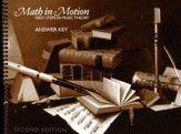 Math in Motion Answer Key, Second  Edition
