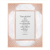Trust in the Lord With All Your Heart, Proverbs 3:5-6, Framed Art