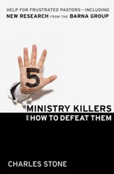 Five Ministry Killers and How to Defeat Them: Help for Frustrated Pastors-Including New Research From the Barna Group - eBook