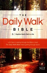 The Daily Walk Bible, NLT Softcover
