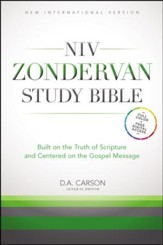 NIV Zondervan Study Bible, hardcover - Slightly Imperfect