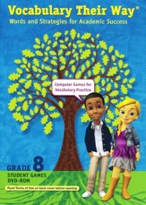 Vocabulary Their Way: Words and Strategies for Academic Success Student Games DVD-ROM, Grade 8