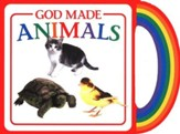 God's Gifts to Me: God Made Animals, Mini Board Book