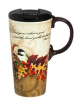 Autumn Bird Ceramic Mug