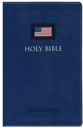 The NIV Liberty Bible Italian Duo-Tone, Blue - Slightly Imperfect