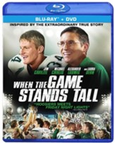 When the Game Stands Tall, Blu-ray/DVD Combo