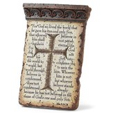 John 3:16-18 Tabletop Plaque