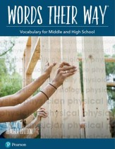 Words Their Way: Vocabulary for Middle and High School Volume 2 Teacher Edition