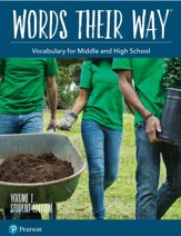 Words Their Way: Vocabulary for Middle and High School  Volume 1 Student Edition