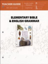 Elementary Bible & English Grammar (Teacher Guide)