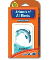 Animals of All Kinds, Flash Cards