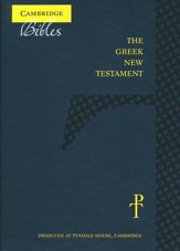 The Greek New Testament, Black French Morocco Leather (Cambridge Press Edition)