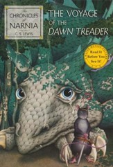 The Chronicles of Narnia: The Voyage of the Dawn Treader,  Softcover - Slightly Imperfect