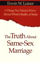 The Truth About Same-Sex Marriage - audiobook on CD