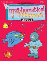 Mathematical Reasoning Level E, Grade 4