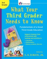 What Your Third Grader Needs to Know: Fundamentals of a Good Third-Grade Education - eBook