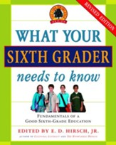 What Your Sixth Grader Needs to Know: Fundamentals of a Good Sixth-Grade Education - eBook