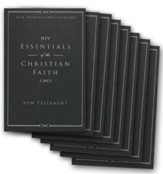 Essentials of the Christian Faith, NIV New Testament: Knowing Jesus and Living the Christian Faith, - 20 Pack