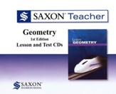 Saxon Teacher for Geometry, First Edition on CD-ROM