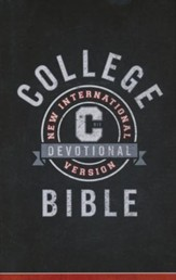 NIV College Devotional Bible, Hardcover, Jacketed Printed - Slightly Imperfect