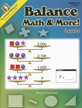 Balance Math & More, Level 3 (Grades 6-12+)