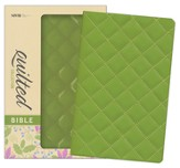 NIV Thinline Quilted Collection Bible, Italian Duo-Tone, Kiwi