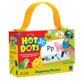Hot Dots Jr. Cards: Beginning Phonics