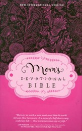 NIV Mom's Devotional Bible, Hardcover, Jacketed Printed - Slightly Imperfect