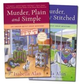 Amish Quilt Shop Mystery Series, Volumes 1 & 2