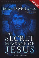 The Secret Message of Jesus - audiobook on MP3