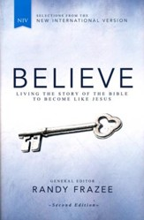 Believe, NIV: Living the Story of the Bible to Become Like Jesus, Second Edition - Slightly Imperfect