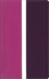 Amplified Bible, Soft Leather-Look, Dark Orchid/Deep Plum