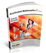 Solaro Study Guide Accelerated Mathematics 7 (Traditional)