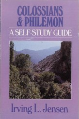 Colossians & Philemon: Jensen Bible Self-Study Guide Series