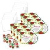 Jesus CD/Christmas Greeting Cards, Pack of 10