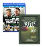 When the Game Stands Tall BONUS Pack - includes the  Blu-Ray/DVD Combo plus companion devotional book