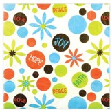 Peace Love Joy Napkins, Pack of 20