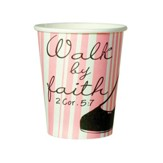 Walk by Faith Cups, Pack of 10