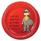 Armor of God Plates, Pack of 10