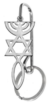 Messianic Keyring