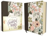 KJV Beautiful Word Bible--clothbound hardcover, multicolor floral