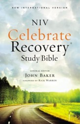 NIV Celebrate Recovery Study Bible, softcover