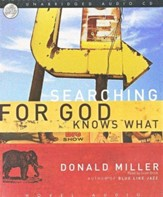 Searching for God Knows What Audiobook on CD