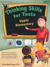 Thinking Skills for Tests, Upper Elementary Edition (Grades 3-5)