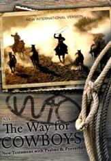 NIV The Way for Cowboys New Testament with Psalms and Proverbs, softcover