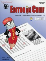 Editor in Chief Level 1 (A1-A2 Combined)