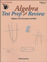 Algebra Test Prep and Review