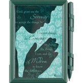 Serenity Prayer Memo Pad and Pen