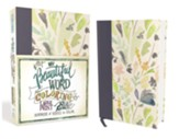 NIV, Beautiful Word Coloring Bible, Large Print, Hardcover, Floral