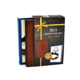 NKJV Graduation Kit for Grads, Brown